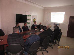 Kahta'da TARSİM Bilgilendirme Toplantısı yapıldı