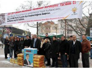 Yenişehir'den Bayırbucak Türkmenlerine Yardım