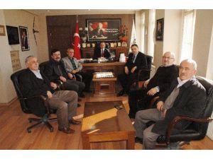 Kastamonu İl Genel Meclis Başkanı Kayıkçı Hanönü İlçesini Ziyaret Etti