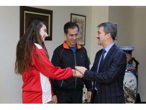 Belediyespor'un Yeteneği Milli Takım Kamp Yolcusu