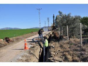 Kozan'da İçme Suyu Şebekeleri Yenileniyor