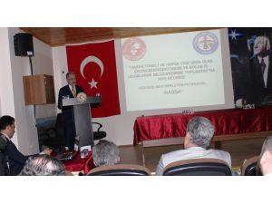 İskenderunlu işadamları Hassa'da incelemelerde bulundu