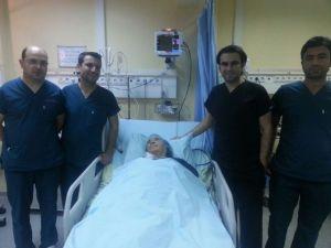 Hastanede İlk Defa Rahim Kanseri Ameliyatı Yapıldı
