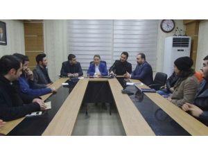 Çalık, AK Partili Gençlerle Toplantı Yaptı