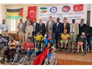 TİKA'dan Etiyopya'daki Engellilere Yardım