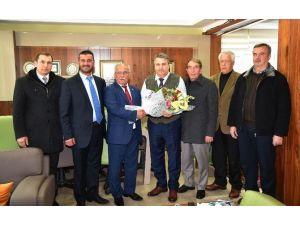 Kahveciler Odası'ndan Başkan Çerçi'ye Ziyaret