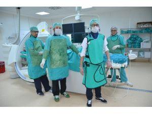 Malatya Devlet Hastanesi Anjiyo Ünitesi Bin Hastaya Ulaştı
