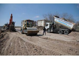 Pursaklar'da Bir Yılda 15 Bin Metre Yeni Yol Yapıldı