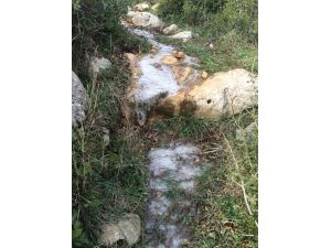 Köylerde su boruları buz tuttu