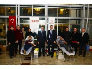 BTSO'dan Türk Kızılay'a Tam Destek