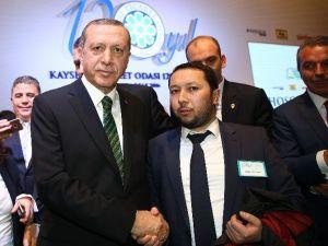 Uygurtürk, Cumhurbaşkanı Erdoğan İle Görüştü