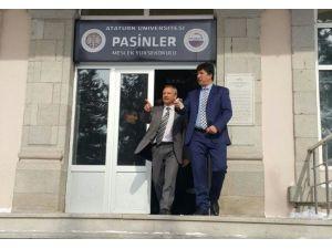 Başkan Sertoğlu, Prof. Dr. Halit Orhan'ı Ziyaret Etti