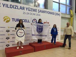 Edirne Su Sporlaru Kulübü, Türkiye Şampiyonası'ndan Madalyalarla Döndü