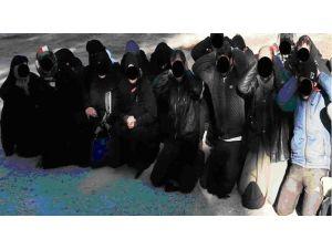 Türkiye'den Suriye'ye Girmeye Çalışan 4 IŞİD Mensubu Yakalandı
