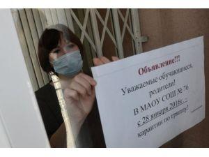 Rusya'da grip tehlikesi büyüyor, ölü sayısı 107'ye çıktı