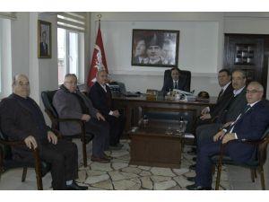 THK'dan Kaymakam Osman Altın'a Ziyaret