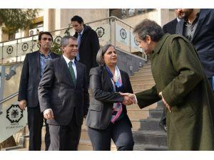 Yunanistan Büyükelçisi Eş Başkanları Ziyaret Etti
