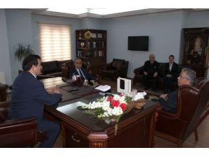 Gümrük Müdürlüğü Çalışanlarından Kaymakam Demir'e Ziyaret