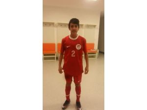 Meskisporlu Yusuf Sunbat, U-14 Milli Takımına Seçildi