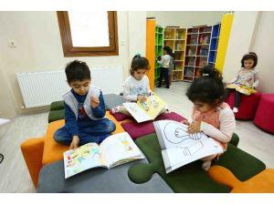 Çocuklar Yarıyıl Tatilinde Kapalı Oyun Parkı'na Akın Etti