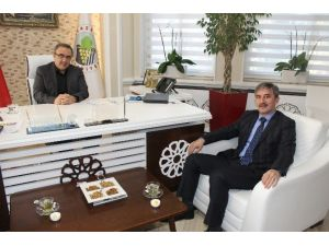 Başkan Şirin'den Başkan Karaçoban'a Ziyaret