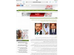 Mısır devlet gazetesi: İsrail'le yakınlaşan Ankara, Kahire'yle barışmak istiyor