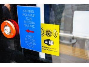 Ücretsiz Wifi Hizmetinden 600 Bin Kişi Faydalandı