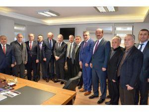 Başkan Keleş, Mehmet Ali Şahin İle Görüştü