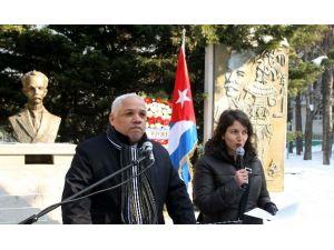 Latin Amerika Bağımsızlık Önderi Jose Marti Çankaya'da Yaşıyor