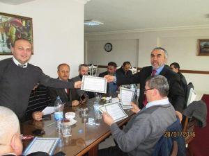 Yüz Yüze Vaaz Hizmet İçi Eğitim Kursu Tamamlandı