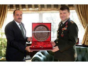Başkan Duruay'dan İl Jandarma Komutanına Ziyaret