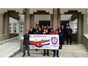 Fethi Gemuhluoğlu Fen Lisesi, Avrupa'da İnteraktif Eğitimde