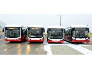 Türkiye'nin İlk Elektrikli Otobüsleri Konya'da