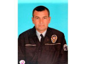 Samsunda hayatını kaybeden polis memuru Erzin'de defnedildi