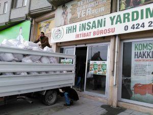 Elazığ TSO'den Suriyeli Türkmenlere yardım