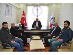 Filistin İslami Hareket Partisi'nden Memur-sen'e Ziyaret