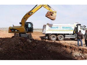 Haliliye Belediyesi Yol Çalışmalarında 'Dur Durak' Bilmiyor