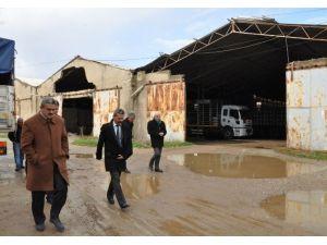 Başkan Alıcık Nazilli'deki Tüp Deposunu İnceledi