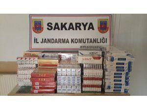 Jandarmadan Kaçak Sigara Operasyonu
