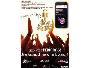 NKÜ Radyo 4. Sihirli Mikrofon Radyo Ödülleri'nde