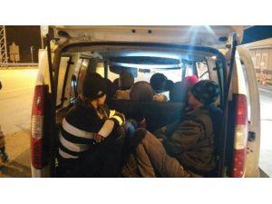 Edirne'de 41 Kaçak Göçmen Yakalandı
