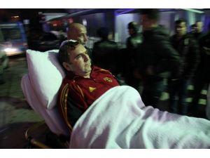 Kandıra'da Polislere Çekiçli Saldırı: 5 Polis Yaralı