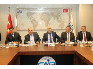 Türkiye Hububat Bakliyat Sektör Kurulu Gaib'te Toplandı