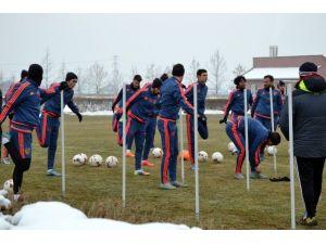 Kayserispor, Fenerbahçe Maçı Hazırlıklarını Sürdürdü