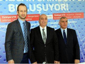Uluslararası Yıldız Erkekler Basketbol Turnuvası Samsun'da Başlıyor