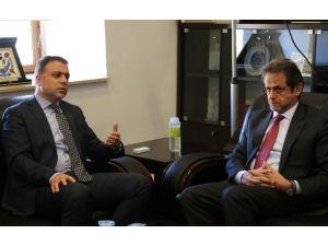 Yunanistan Büyükelçisi'nden DTSO'ya Ziyaret