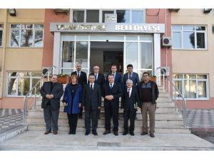 Bakan Yardımcısı Coşkunyürek'ten Başkan Çerçi'ye Ziyaret