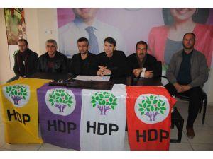 Hakkari'de HDP ve DBP'den 'Hakkari'nin taşınmasına' ortak tepki
