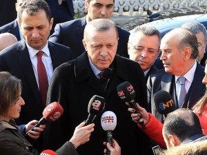 Erdoğan: Bunlar terör örgütüne uşaklık yapıyor