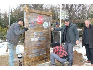 Şehit Polisin İsmi Parkta Yaşatılacak